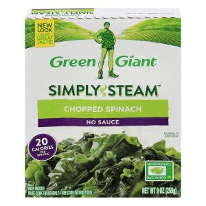 Green Giant Chopped Spinach