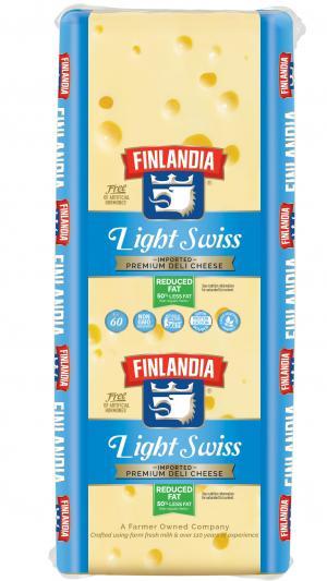 Finlandia Light Swiss Cheese
