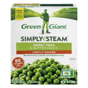Green Giant Steamers Baby Sweet Peas & Butter Sauce