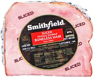 Smithfield Premium Quarter Boneless Sliced Ham