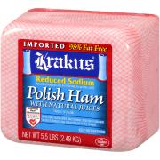 Krakus Reduced Sodium Imported Polish Ham