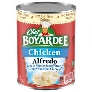 Chef Boyardee Chicken Alfredo