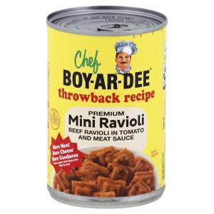 Chef Boyardee Throwback Recipe Mini Ravioli
