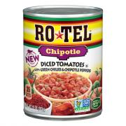 Rotel Chipotle Diced Tomatoes with Green Chilies & Chipotle