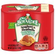 Chef Boyardee Spaghetti and Meatballs
