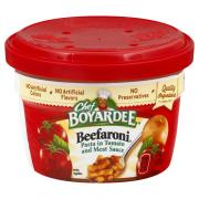 Chef Boyardee Microwave Beefaroni
