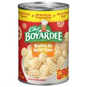 Chef Boyardee Pasta in Butter Sauce