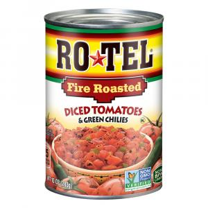 Rotel Fire Roasted Diced Tomatoes And Green Chilies