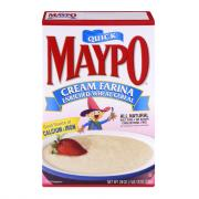 Maypo Quick Cream Farina Wheat Cereal