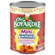 Chef Boyardee Spaghetti & Meatballs Minibites