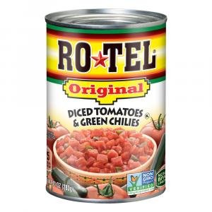 Rotel Diced Tomatoes With Green Chilies