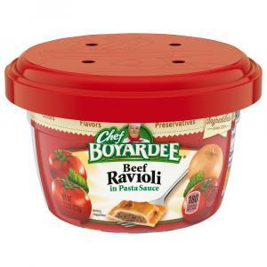 Chef Boyardee Microwave Beef Ravioli