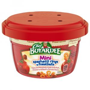 Chef Boyardee Microwave Spaghetti Ring W/meatballs