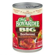 Chef Boyardee Big Beefaroni