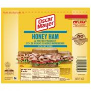 Oscar Mayer Honey Ham Wallet Pack