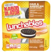 Lunchables Ham, American Cheese with Crackers
