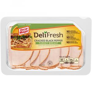 Oscar Mayer Deli Fresh Cracked Black Pepper Turkey Breast