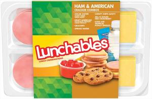 Oscar Mayer Lunchables Ham American Cheese & Crackers