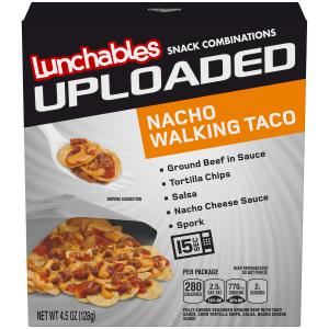 Uploaded Lunchables Nacho Walking Taco