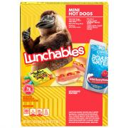 Lunchables Fun Pack Mini Hot Dog with Capri Sun
