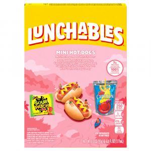 Lunchables Fun Pack Mini Hot Dog with Capri Sun