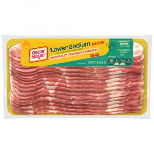 Oscar Mayer Low Salt Sliced Bacon