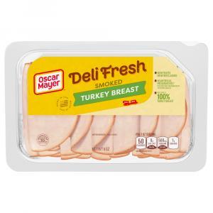 Oscar Mayer Deli Style Shaved Smoked Turkey