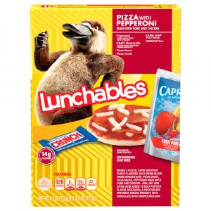 Lunchables Fun Pack Pepperoni Pizza with Beverage
