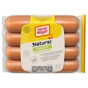 Oscar Mayer Turkey No Nitrates or Nitrites Added Hot Dogs