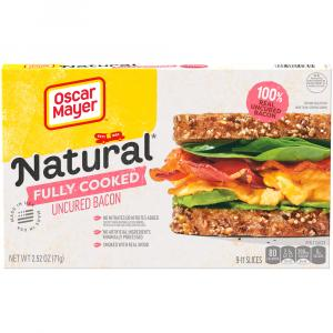 Oscar Mayer Fully Cooked Natural Uncured Bacon