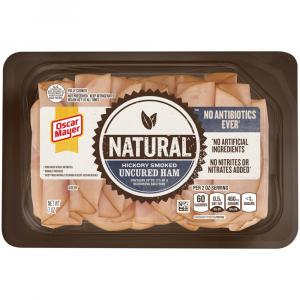 Oscar Mayer Natural No Antibiotic Hickory Smoked Ham