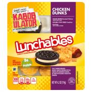 Lunchables Chicken Dunks