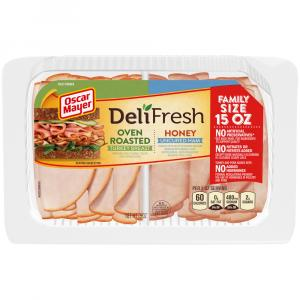 Oscar Mayer Deli Fresh Combo Turkey and Honey Ham