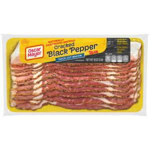 Oscar Mayer Cracked Black Pepper Thick Cut Bacon