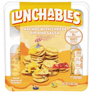 Lunchables Nacho Cheese & Salsa