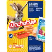 Lunchables Fun Pack Turkey & Cheddar Cheese