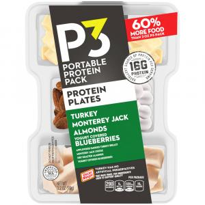 P3 Protein Plates Turkey Almonds Jack Blueberries