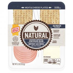Oscar Mayer Natural Hickory Smoked Ham, Monterey Jack Cheese