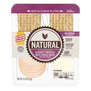 Oscar Mayer Natural Slow Roasted Turkey, Cheddar Cheese