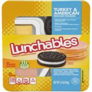 Lunchables Turkey & American Cheese with Crackers