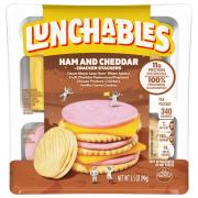Lunchables Ham & Cheddar Cheese with Crackers