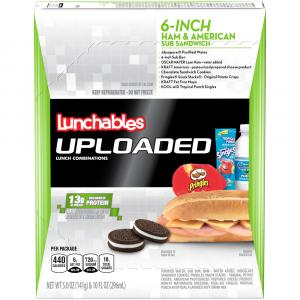 Uploaded Lunchables Ham Sub