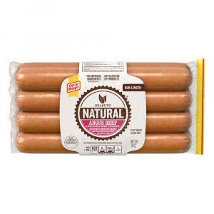 Oscar Mayer Angus Beef Bun Length Hot Dogs