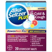 Alka-Seltzer Plus Cough & Cold Powerfast