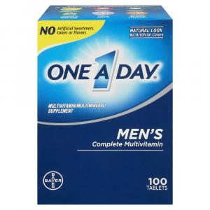 One a Day Men's Complete Multivitamin Tablets