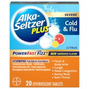 Alka-Seltzer Plus Severe Cold & Flu Powerfast