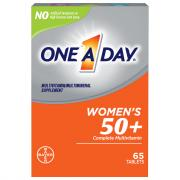 One A Day Womens 50 Plus Complete Multivitamin Tablets