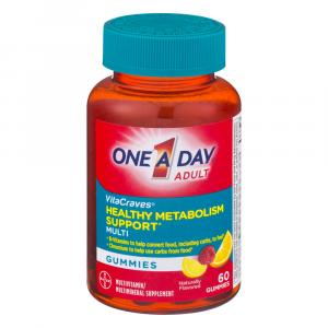 One A Day Vitacraves Healthy Metabolism Multivitamin Gummies
