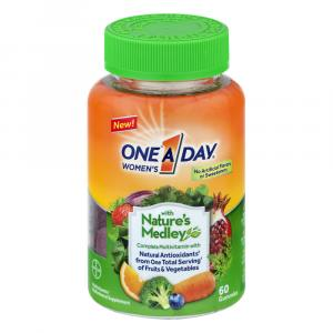 One A Day Nature Medley Complete Multi Vitamin Gummies Women