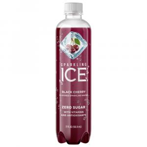 Sparkling Ice Black Cherry Flavored Water